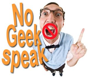 No Geak Speak Image