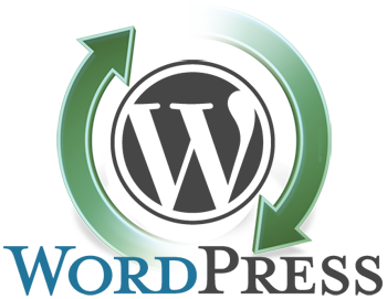 wordpress updates logo