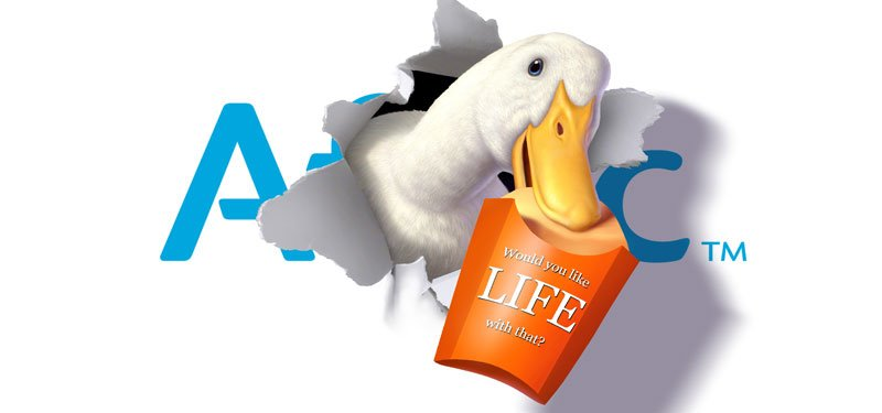 Templates Aflac Duck