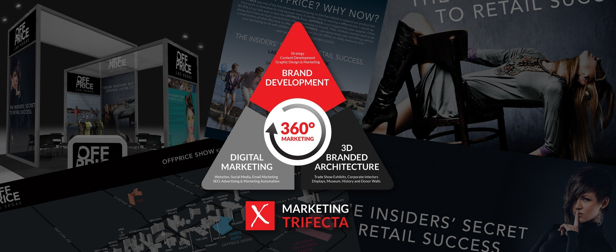 A 360° APPROACH TO TRADE SHOW DESIGN AND MARKETING